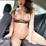 Showing off in a car
